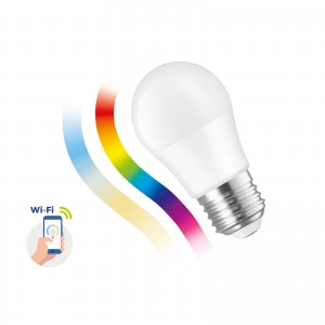 Inteligentna żarówka LED Spectrum SMART kulka 5W E-27 Wi-Fi/Bluetooth RGBW CCT DIMM